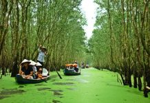 Du lịch An Giang mùa nước nổi