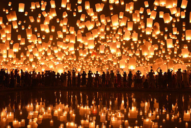 du lịch Thái Lan với mùa lễ hội